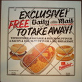 Free Daily Mail to take away with breakfast 1980's DT