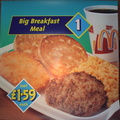 Meal 1 Big Breakfast Meal DT