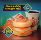 Meal 4 Baco & Egg McMuffin Meal DT