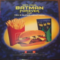 Batman Forever Cup  1996 Super Hero Meal