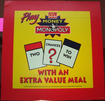 Monopoly money game circa late 1990's