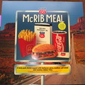 Route 66 McRib Meal