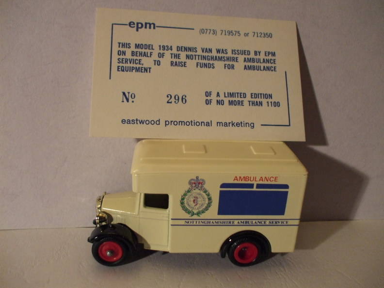 EPM Notts Ambulance Service No 296 of 1100.JPG