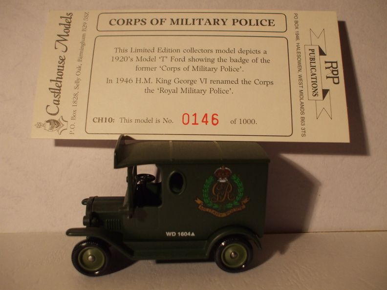 CH 10 Corp of Military Police No 146 of 1000.JPG