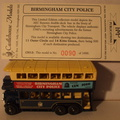 CH 12 Birmingham City Police bus dest 14 Kitts Green No 90 of 1000