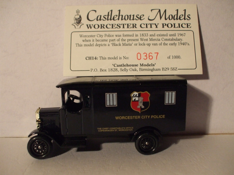 CH 14 Worcester City Police No 367 of 1000.JPG