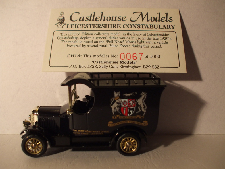 CH 16 Leicestershire Constabulary No 67 of 1000.JPG