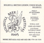 2005 Solihull BF a
