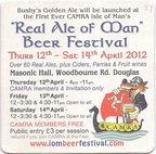 2012 Real Ale of Man BF a
