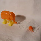 RW 34 Tobar Ltd - orange elephant + weight