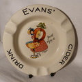 Evans' Cider ashtray