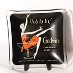 Godwin's glass ashtray