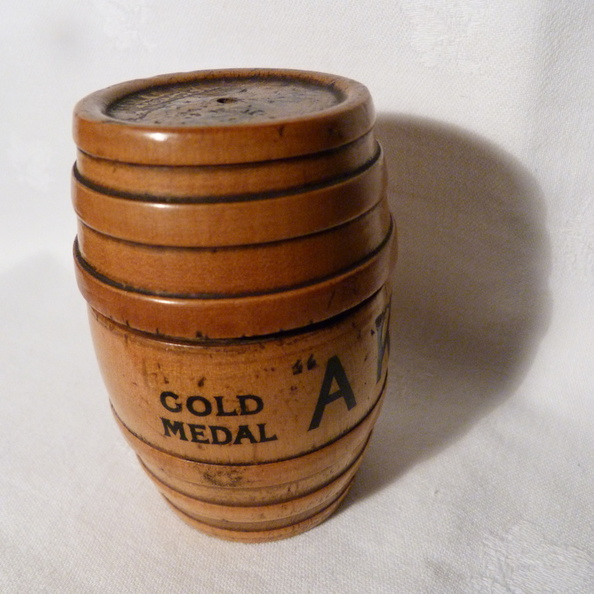 Hole's Brewery string barrel 1889 lt view.JPG