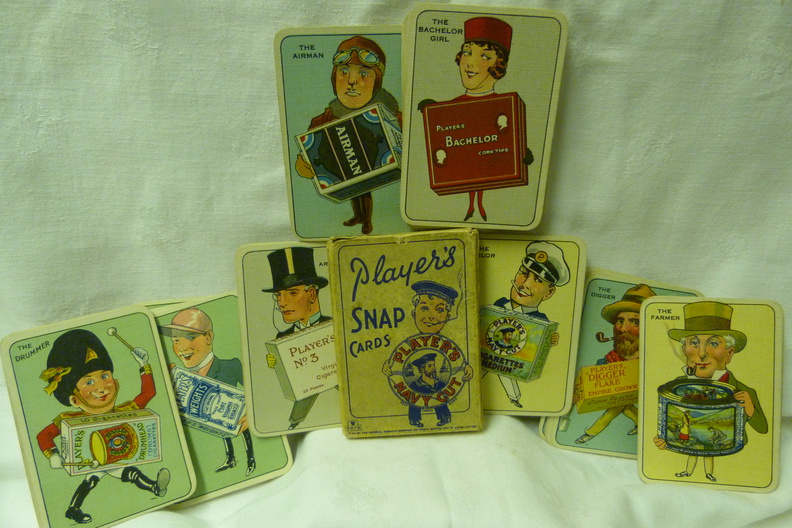1930's Players Snap Cards.JPG