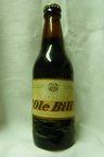 1950's Warwick & Rochardsons full beer bottle 'ole Bill'