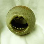 Art pottery mouth