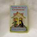 Guinness give-away card