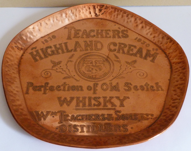 Teachers Highland Cream drinks tray 1930's.jpg