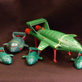 Thunderbird 2 - three different models