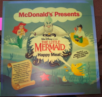 Little Mermaid 1st Nov 1990