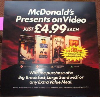McDonalds presents on video (with meals)