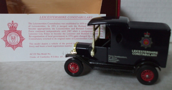 AC 129 Leicestershire Constabulary No 402