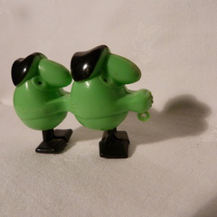 RW 35 green big nose pair