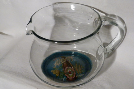 Allsopp glass water jug 1930 b