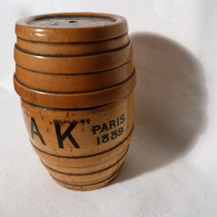 Hole's Brewery string barrel 1889 c