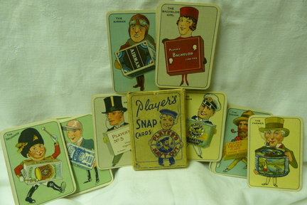 1930's Players Snap Cards