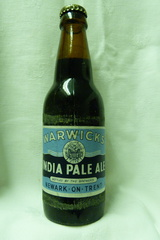 1950's Warwick & Richardson full beer bottle