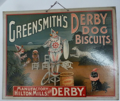 Greensmith's Derby Dog Biscuits