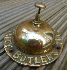 Butlers Brewery counter Bell c1950's