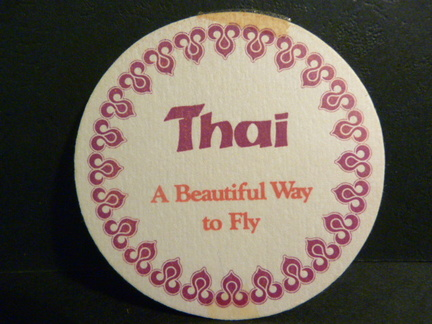 air - P1180906 - Thai Airlines ao thin card