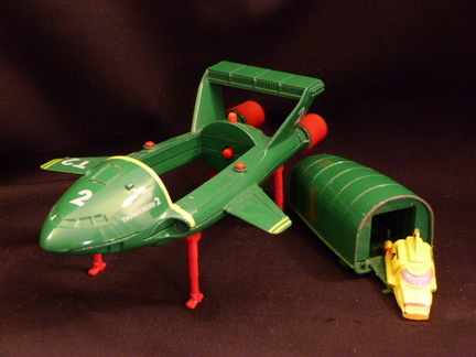 Thunderbird 2 complete with Thunderbird 4