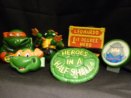 Burger King toys - Mutant Ninja Turtles
