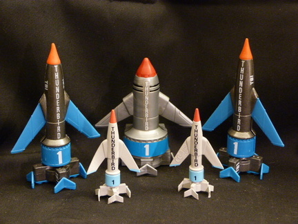 Thunderbird 1 - various toy models