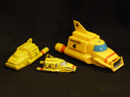 Thunderbird 4 - three different models