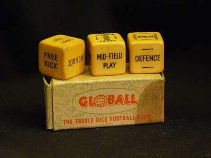 Glowball Football dice game