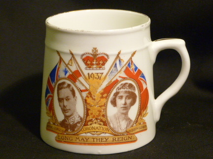 1937 Royal Commemorative mug