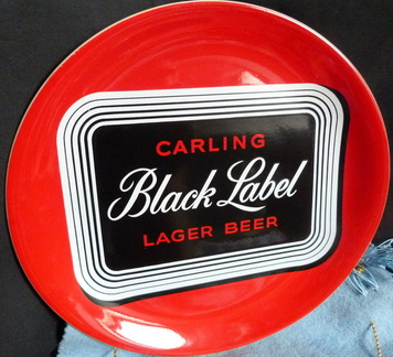 Carling black Label Plate