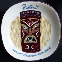 Butlin's Beachcomber Bar ashtray