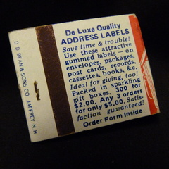 De Luxe Quality Address Labels (Whitewell Co)