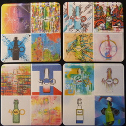Beermat sets complete and part sets