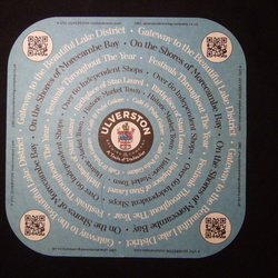 Beermats for exchanging for CIDER mats