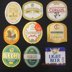 Lot 1 - 6 Oct 2020 Random beer labels