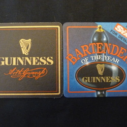 Guinness mats for exchanging